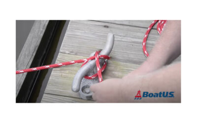 How to Tie a Cleat Hitch Knot