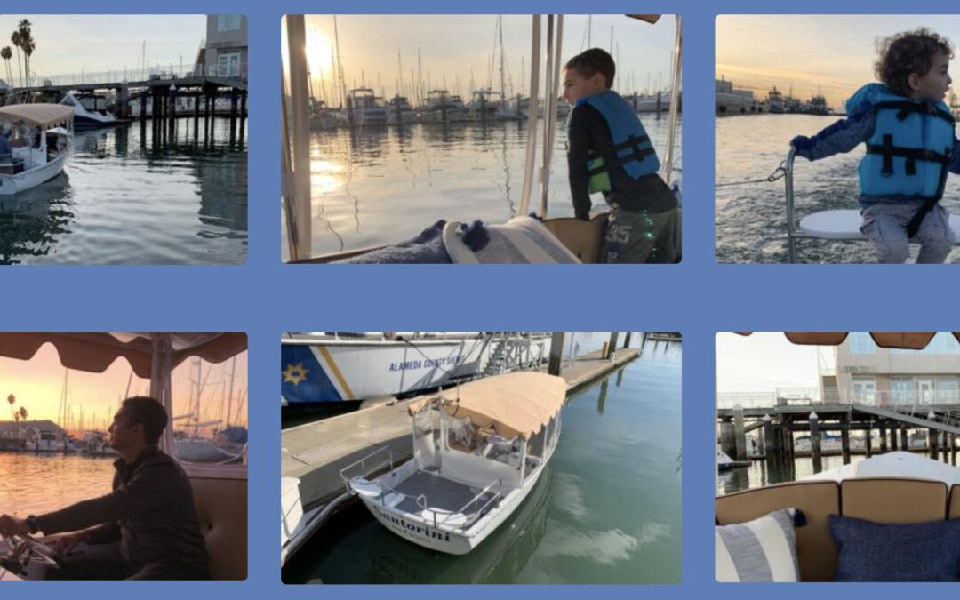 Bay Area Electric Boats (BAE Boats) at Grand Marina