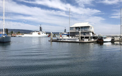 Guest berthing available for a soothing stay on the estuary!
